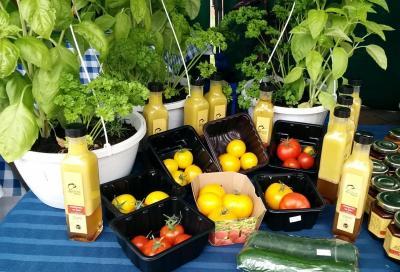 Légumes et vinaigrettes